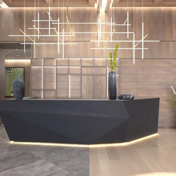 Hall - reception desk